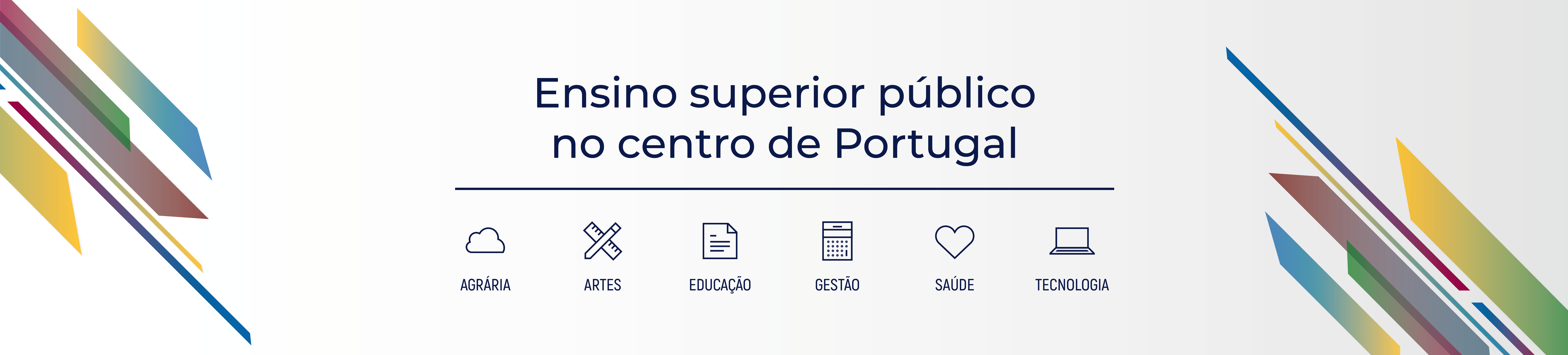 Ensino superior público no centro de Portugal